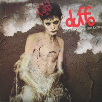 Jeff Duff (Duffo) cover pic for Give Me Back Me Brain single