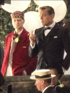 Duff and Di Caprio in The Great Gatsby