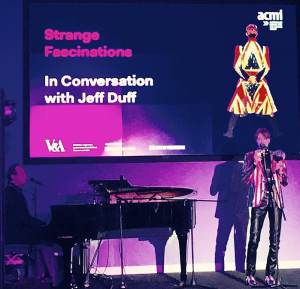 Jeff Duff and Glenn Rhodes: opening night: Bowie IS @ ACMI